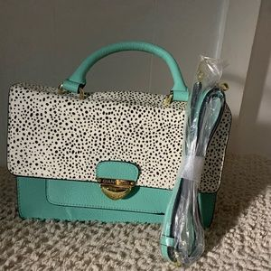 Tiffany Blue Gianni Bini purse